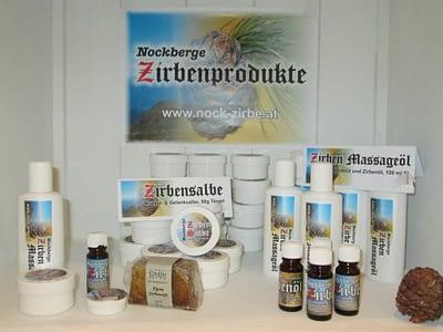 Zirbenprodukte-Geschenkboutique